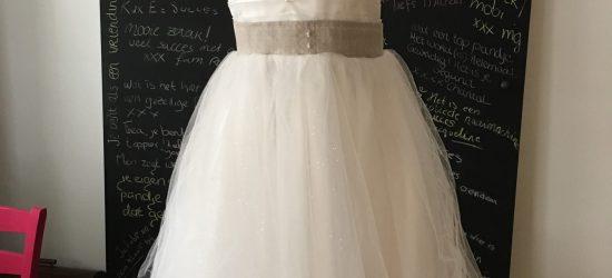 Bruidsmeisjes jurk voorkant