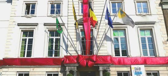 Portfolio grote strik voor gemeente huis belgie 3
