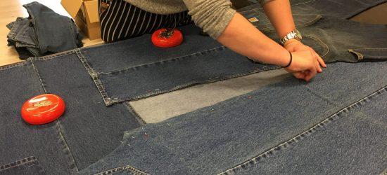 Project spijkerbroek wand 2