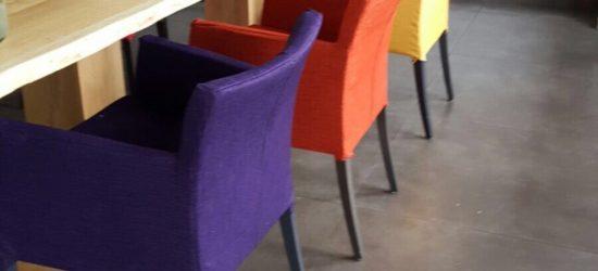 Project stoelen bekleden 1