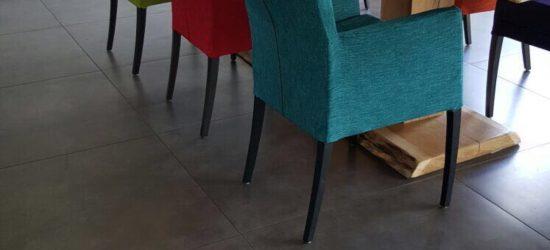 Project stoelen bekleden 2