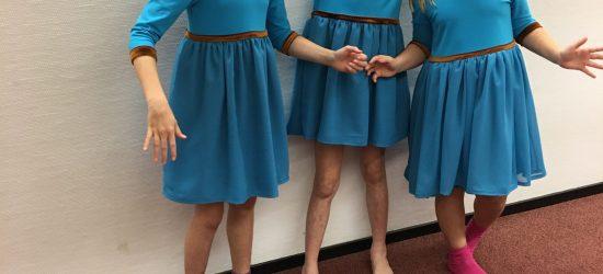 bruidsmeisjes kleding blauw definitief